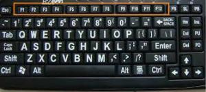 fungsi tombol-tombol keyboard