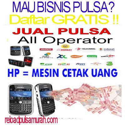 bisnis pulsa murah online